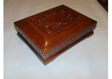 [0392] Шкатулка для изделия МР- 654 и т.д. Орех с художественной инкрустацией