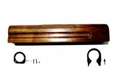 [1057] МЦ-2112 Цевье в сборе задняя, передняя скоба Орех (Ручная работа)